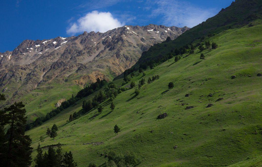 Elbrus im Kaukasus